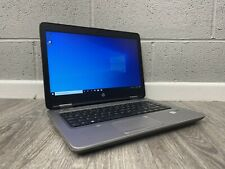 HP Probook 640 G2 Laptop i3 6100U 2.30GHz 8GB RAM 240GB SSD Windows 10 WIFI. HP5