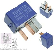Genuine Toyota & Lexus 4-Pin Purple Starter Relay 28300-28010 Denso 156700-2300