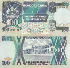 U-12-4, Uganda 100 chelín 1998 P 31, Universal