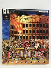 Promo Microsoft Age of Empires: The Rise of Rome Expansion (PC, 1998) ~ SEALED