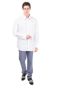 RRP €120 CC COLLECTION CORNELIANI Shirt Size 44 / 17 1/2 / XL Made in Italy