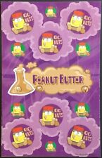 Dr. Stinky's Scratch & Sniff Stickers - Peanut Butter - Mint Condition!!