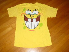 Official SPONGEBOB SQUARE PANTS T-Shirt  NEW   Cute Funny sz.... adult ... LARGE