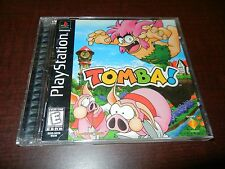***TOMBA PS1 PLAYSTATION 1 BLACK LABEL COMPLETE***