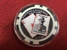"""1 Pinstripes & Polkadots 10/26/12 Duke Commemorative Poker Chip 1 9/16""""dia"""