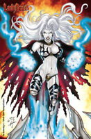 Lady Death Reckoning #1 Tribute Battle Damaged  Ltd. Ed.  125 Comic Book