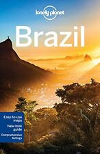 Lonely Planet Brazil (Travel Guide) New Paperback Book Lonely Planet, Regis St L