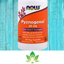 Now Foods, Pycnogenol, 30 mg, 60 Cap UK Freepost Synergy