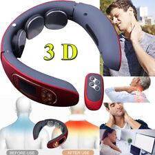 3D Massagegerät Nacken Schulter USB Elektrisch Massager Halswirbel Wärmefunktion