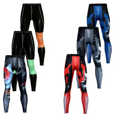 Mens Athletic Compression Tight Base Layer Pants Long Leggings Gym Sportwear