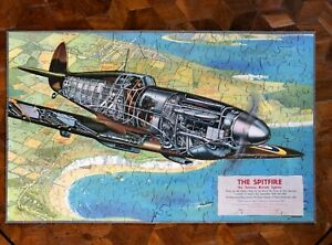 "IMPRESSIVE JIGSAW PUZZLE- ""THE SPITFIRE"" COMPLETE AND IN GOOD CONDITION"