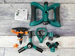 Lawn Sprinkler, Automatic 360 Rotating Adjustable Garden Water Sprinklers