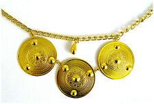 Gürtelkette gold Bauchtanz Karneval Schmuck Modeschmuck Metall Gürtel 124465213