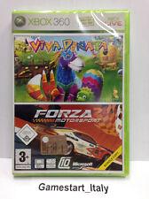 VIVA PINATA + FORZA MOTORSPORT 2 (XBOX 360) VIDEOGIOCO NUOVO SIGILLATO NEW GAME