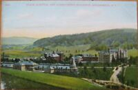1910 NY Postcard: State Hospital - Binghamton, New York