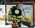 PAD Save! HOFer & 2X CUP WINNER #30 Gerry CHEEVERS Boston BRUINS SIGNED 8X10 !!!
