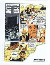 BOILET. Plaquette publicitaire ECHO VISION. 1986