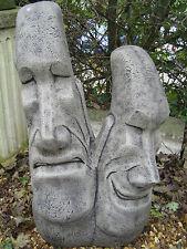 easter island head stone garden ornament
