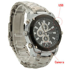Spy REC Watch Video Hidden Camera HD Camcorder Digital Nanny Waterproof 1280*960