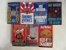 BIG Lot (7) JOE WEBER War Military Book SCOTT DALTON JACKIE SULLIVAN BRAD AUSTIN