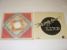 Zz Top It's Only Love Promo 45 + Picture Sleeve London Sn 241 Dj Orange Label