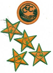 CIVILIAN CONSERVATION CORPS CCC PATCH LOT TWILL