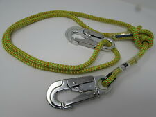 4Ft-7Ft Rope Logic'S Tropical Ivy Buckstrap Rope Lanyard Yale 24 Strand Arborist