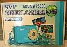 SVP AQUA WP5300 Water Proof Shock Resistant 5.0 MP Digital Camera 8X ZOOM