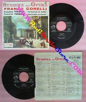 LP 45 7'' Franco Corelli Tosca E Lucean Die Sterne Heute Abend All Oper No CD Mc