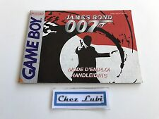Notice - James Bond 007 - Nintendo Game Boy - PAL NFAH