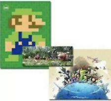 Club Nintendo Rewards Poster Set 2013, Year Of Luigi Pikmin Zelda Windwaker New