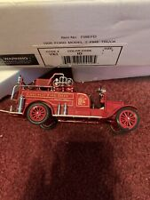 SIGNATURE MODEL 1926 FORD MODEL T CHICAGO FIRE DEPARTMENT TRUCK