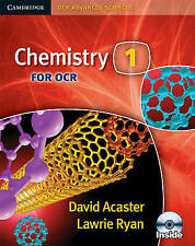 Chemistry 1 for OCR with CD-ROM (Cambridge OCR Advanced Sciences), Ryan, Lawrie,