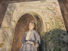 1891 Berrydown Manor GIDLEIGH  Devon TQ13 8HS PORTRAIT WATERCOLOUR 200 X 140 mm