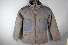 EUC GI Genuine Issue Brown Bear Jacket, Army Cold Weather Shirt, Medium
