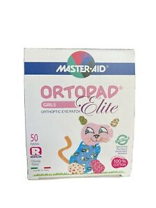 Ortopad Elite Eye Patch - 50 Stick On Patches (Latex Free) Size Regular 4+Years