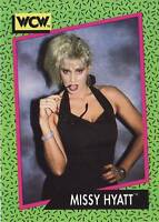 1991 WCW/WWE Impel #158 Missy Hyatt near mint