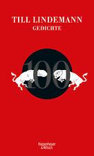 100 Gedichte | Till Lindemann |  9783462053326