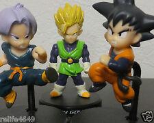 Bandai Dragon Ball deformation figure Gohan Goten Trunks set