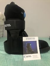 Brand New!!  United Ortho Air Cam Walker Fracture Boot, Large, Black