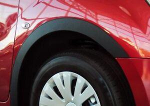 Hyundai Trajet Radlauf Schwarz Matt Zierleisten Satz 4Stück Vorne Hinten Styling
