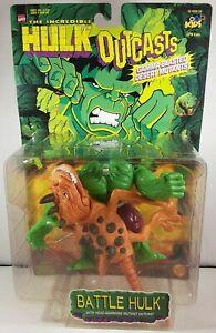 Marvel Incredible Hulk Outcasts Battle Hulk & Head Ramming Mutant Figure ToyBiz