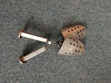 Vintage Ekco Shoe Tree Adjustable Metal Stretchers - pair