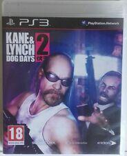 Kane & Lynch. Dog Days 2. Ps3. Fisico. Pal España