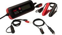 Carica Batterie Mantenitore Tester Telwin T-Charge 12 Evo 6/12 V Schermo Lcd