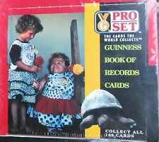 Sealed*Boxed*Amazing*GUINNESS BOOK OF WORLD RECORDS-36 Packs=360 Collector Cards