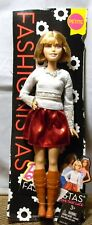 BARBIE DOLL FASHIONISTAS PETITE DIRTY BLONDE HAIR NEW ON CARD