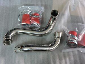 TUBI INOX  INTERCOOLER ALFA 159 1.9 jdtm 16 v 150 hp CON MANICOTTI SILICONICI