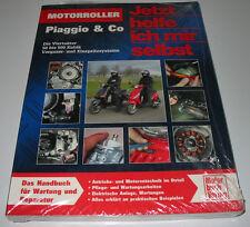 Reparaturanleitung Motorroller Piaggio 4 Takter 50-500 ccm Vergaser Einspritzer!