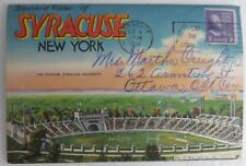 1952 Syracuse New York Postcard Folder Envelope (Inv3684)